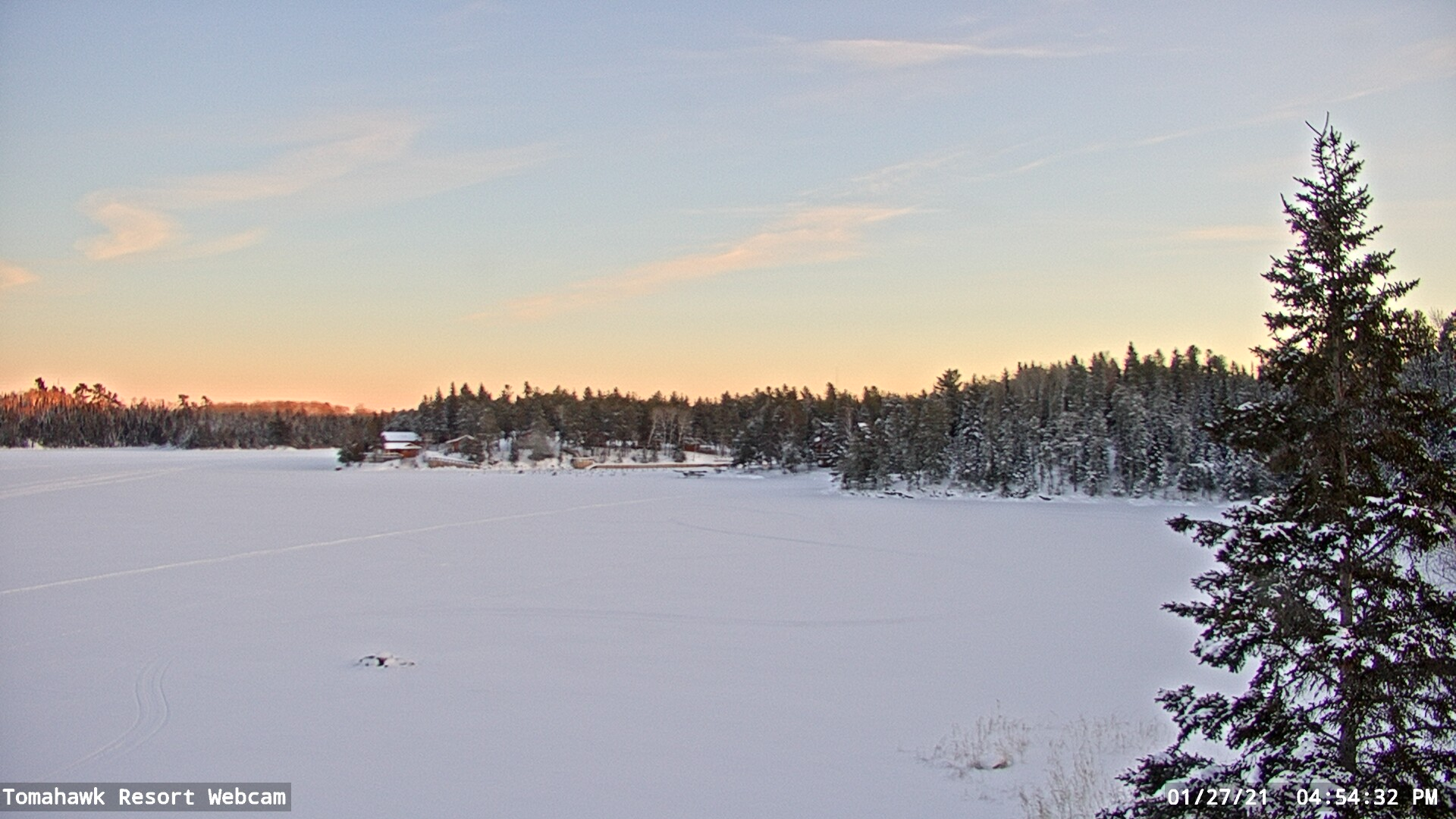 WebCam Still, Lake of the Woods, Ontario
