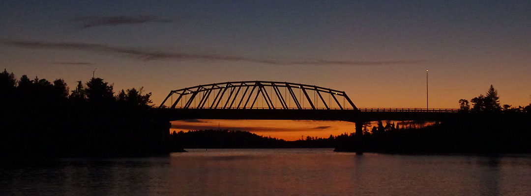 Sioux Narrows on a Summer Evening