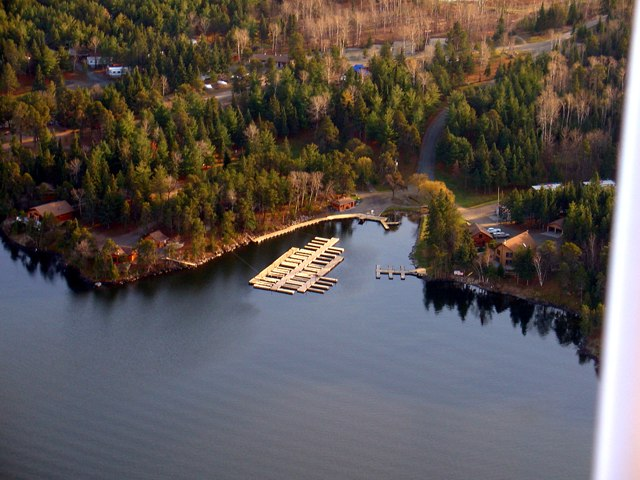 Tomahawk Resort in November